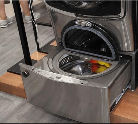Как работает стиральная машина с 2 барабанами