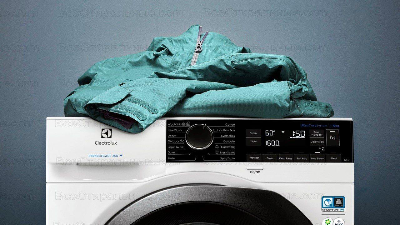 Какие стиральные машины стирают пуховики