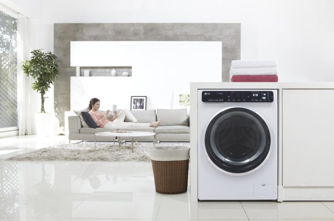 LG стиральная машина с защитой от детей