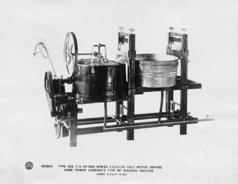 Первые стиральные машины - какие они были?