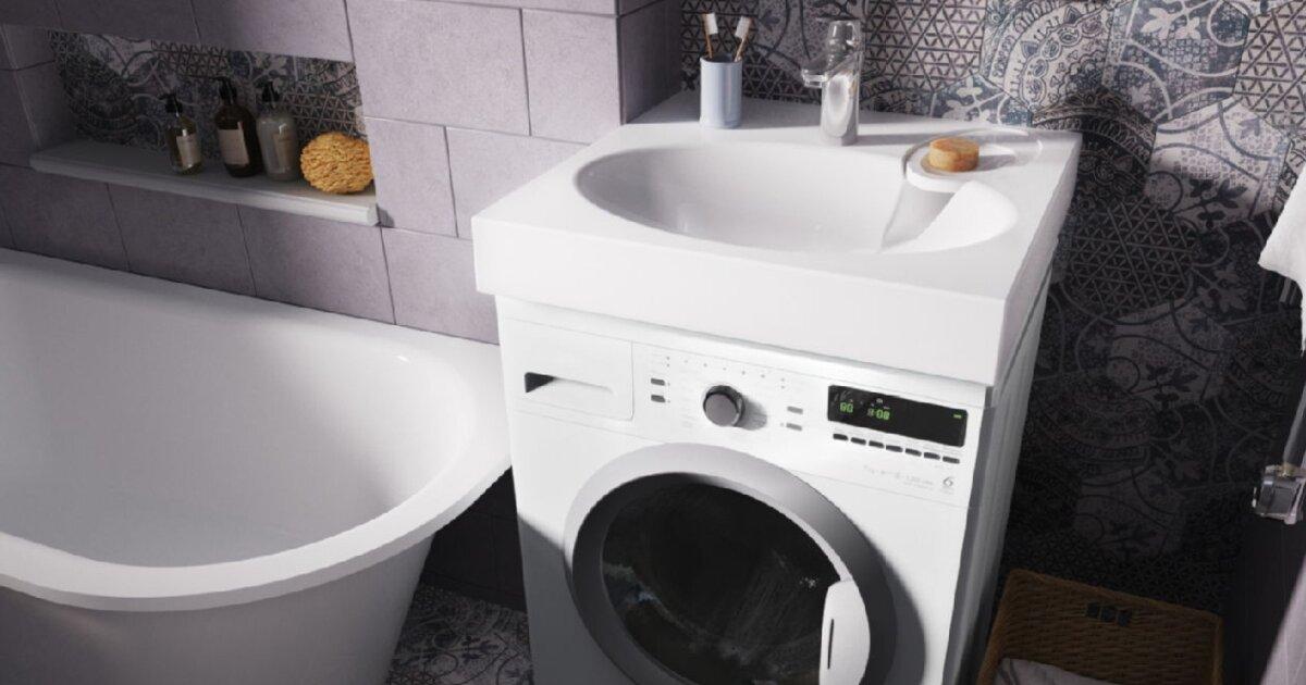 Как выбрать раковину над стиральной машиной